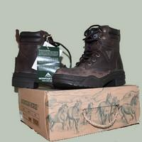 Mountain Rider Dark Brown Boots Mountain Horse