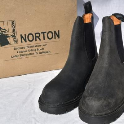 Leather Norton Boots