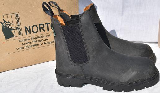 Leather Norton Boots profile