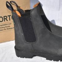 Boots équitation Norton cuir profil
