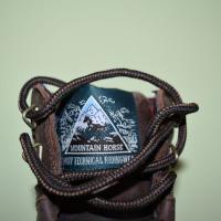 Bottines d'équitation Mountain Horse Rider logo sur languette