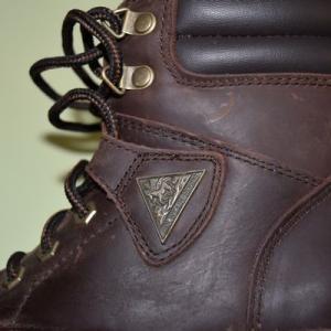 Bottines d'équitation Mountain Horse Rider logo sur passant cuir