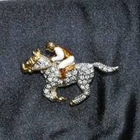 racehorse and its jockey