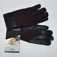 Gants equitation Like A Glove cuir néoprène marron taille L
