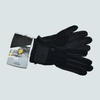 Gants equitation Like A Glove cuir et sergé de coton