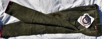 Pantalon Equitation Dame taille 36 John Field olive Réf HP1036