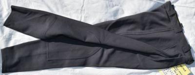 Pantalon Equitation Enfant 176 Orentoile gris souris Réf HP1039