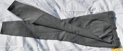 Pantalon Equitation Enfant 188 Orentoile gris chiné Réf HP1044