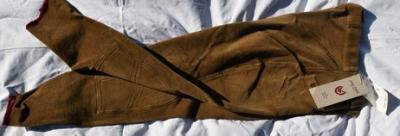 Pantalon Equitation Homme taille 46 John Field camel Réf HP1045