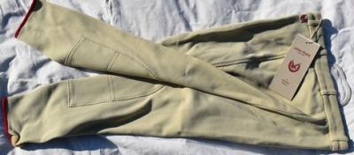 Pantalon Equitation Enfant taille176 John Field beige Réf HP1050