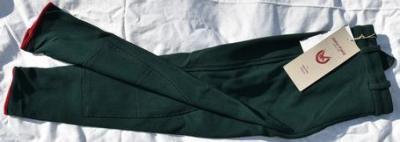 Pantalon Equitation Enfant taille134 John Field vert bouteille Réf HP1051