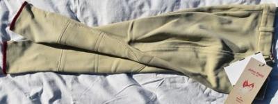 Pantalon Equitation Enfant taille134 John Field beige Réf HP1052