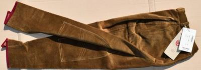 Lady's horseback riding trousers size 38 John Field camel Ref HP1058