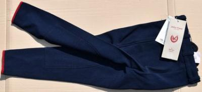 Kid's Horseback riding trousers size128 John Field navy blue Ref HP1064
