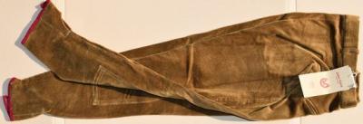 Lady's horseback riding trousers size 40 John Field camel Ref HP1072
