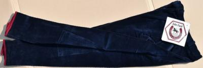 Lady's horseback riding trousers size 40 John Field navy blue Ref HP1073