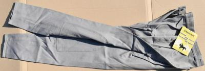 Ladys Horseback riding trousers size 40 Orentoile light grey Ref HP1075