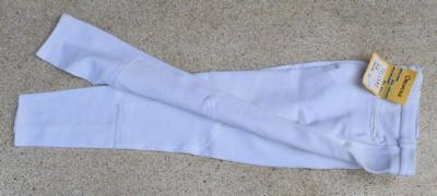 Man's Horseback riding trousers size 44 France White Orentoile Ref HP1001