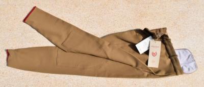Pantalon Equitation Homme taille 42 John Field havane Réf HP1005