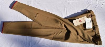 Pantalon Equitation Homme taille 44 John Field havane Réf HP1007