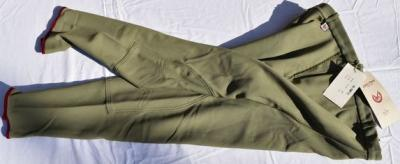 Pantalon Equitation Homme taille 50 John Field olive Réf HP1012