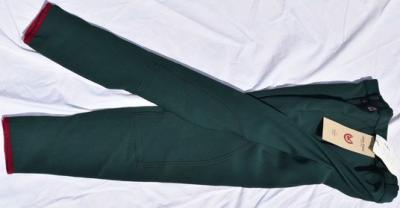 Pantalon Equitation Homme taille 42 John Field vert bouteille Réf HP1016