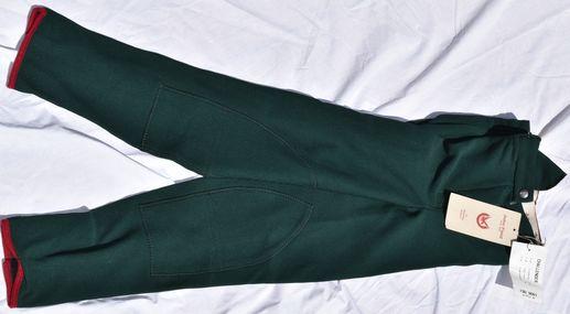 Hp1017 pantalon john field vert bouteille dame 46