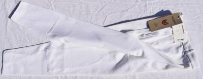 Pantalon Dame taille 46 John Field blanc Réf HP1022